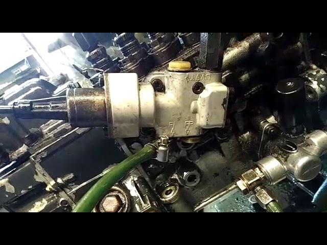 Топливный насос автомобиля Scania Скания ремонт в Пензе