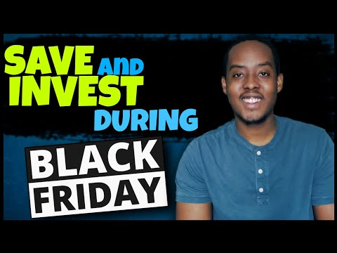 How to Save and Invest In Stocks During Black Friday