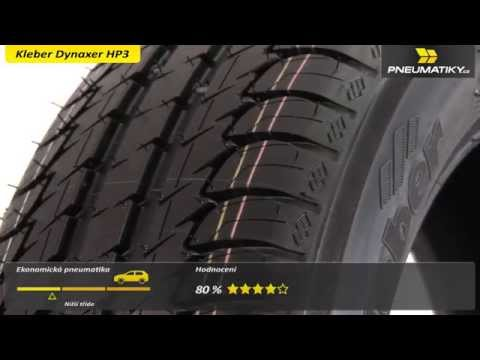 Youtube Kleber Dynaxer HP3 255/40 R19 100 Y XL Letní