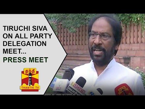 Tiruchi-Siva-addresses-Media-after-All-party-Delegation-Meet-on-Kashmir-Issue-Thanthi-TV