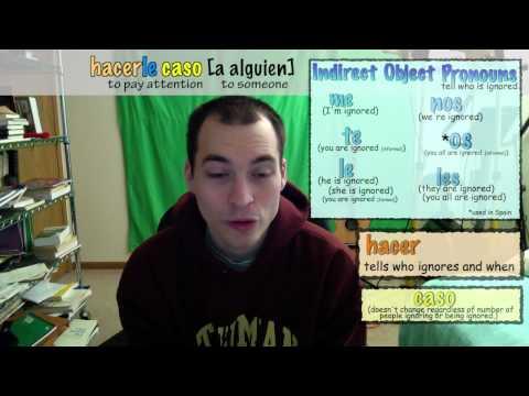 La Frase del Día - Día ciento veintisiete - re-upload - die Aufmerksamkeit auf jemanden zu bezahlen