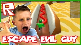 Video How to Escape the Giant Fat Guy Obby ?!? / Roblox MP3, 3GP, MP4, WEBM, AVI, FLV Agustus 2018