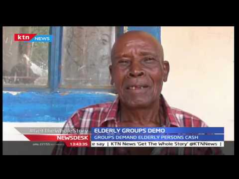 Elderly persons in Mwingi hold protests in demand for elderly cash by government