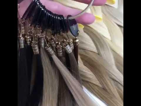 Шикарные комплекты волосы на заколках