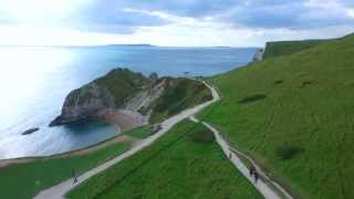 Dorset United Kingdom  City new picture : Durdle Door From the Air - Dorset, UK Sea DJI Phantom 3