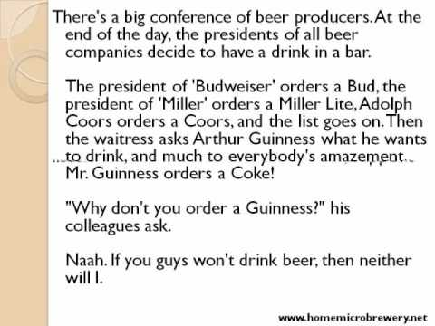 Very funny beer JOKES!! Home Microbrewery