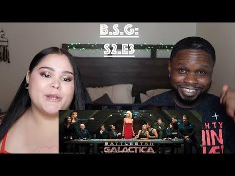 "Battlestar Galactica Season 2 Episode 3 ""Fragged"" Jae's reaction"