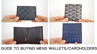 Guide to Buying Mens Wallets and Cardholders  Louis Vuitton G...