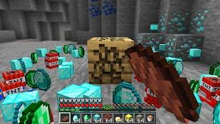 Minecraft UHC but every drop is random...