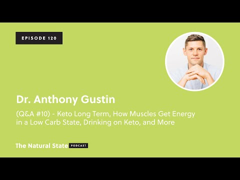 The Natural State 120: (Q&A #10) - Keto Long Term, Drinking on Keto, and More - Dr. Anthony Gustin
