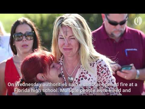 At least 17 killed in Florida high school shooting