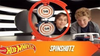 Hot Wheels SpinShotz Commercial