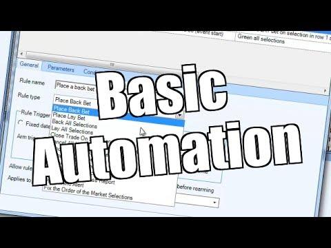 Bet Angel – Basic Automation