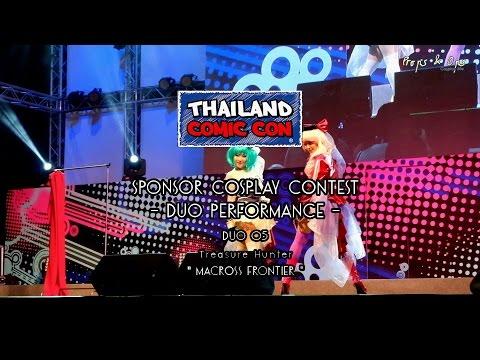 Thailand Comic Con Cosplay Contest – Duo Performance – Team 5 Treasure Hunter – Macross Frontier