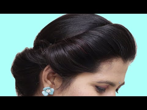 Last Minute Hairstyles for party/wedding/function || Side braid hairstyles || hairstyles | 2019