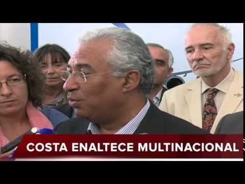 ANTÓNIO COSTA NA EMBRAER