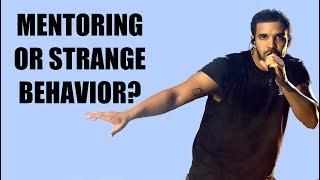 Drake is being creepy, again
