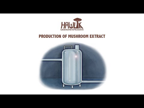 Video 003 Production of Mushroom Extract