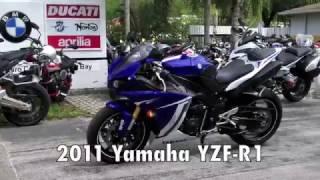 5. Pre-Owned 2011 Yamaha YZF-R1 Team Yamaha Blue at Euro Cycles of Tampa Bay