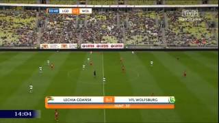 Video Lechia Gdańsk 1 : 1 VfL Wolfsburg - 12.07.15 Friendly Match MP3, 3GP, MP4, WEBM, AVI, FLV Maret 2018
