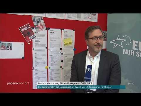 Vorstellung des Europa-Wahlprogramms der Partei Die L ...