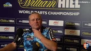 "Mervyn King: ""I went back to work because we had no darts, I'm not one to sit on my backside"""