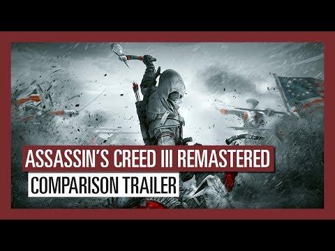 Trailer comparatif de l'original et du remaster de Assassin's Creed III Remastered