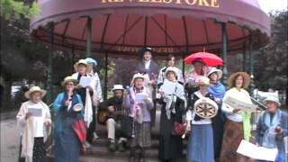 The Revelstoke Raging Grannies sang Harperman on Sept 17th