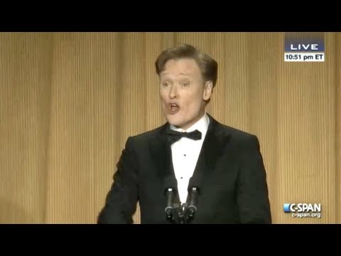 Conan O'Brien's 2013 White House Correspondents Dinner Highlights