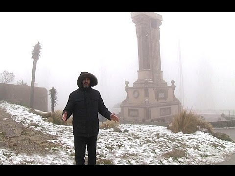 Nieve en Monte Toro-Menorca 2015 (видео)