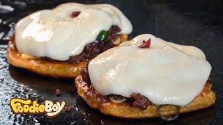 Video Kunta Sandwich / Korean Street Food / Cheonghak Market, Busan Korea MP3, 3GP, MP4, WEBM, AVI, FLV November 2018
