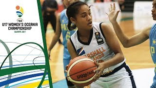 Watch Palau v Marshall Islands, Division B's 3rd place game at the FIBA U17 Women's Oceania Championship 2017. ▻▻ Subscribe: http://fiba.com/subYT Click ...