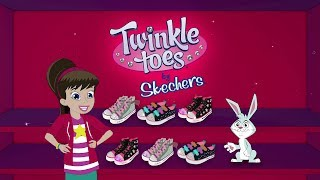 Twinkle Toes is back… and better than ever in all of her latest Twinkle Toes sneakers and high-tops! Whether your style is sparkly and sweet, ready to rock or sporty and spirited for every outdoor adventure, Twinkle Toes has the shoe for you! Check out the new Twinkle Toes collection: rhinestones, cool colors, shimmery stars, ribbons and more! Show us your favorite Twinkle Toes style! Shop for Twinkle Toes and other Skechers Kids footwear for girls and boys at:https://www.skechers.com/en-us/kids-shoes Check us out for news, contests and updates:http://www.facebook.com/SKECHERShttp://www.twitter.com/SKECHERSUSAhttp://www.instagram.com/skechershttp://www.pinterest.com/skechersAnd follow SKECHERSUSA on Snapchat!