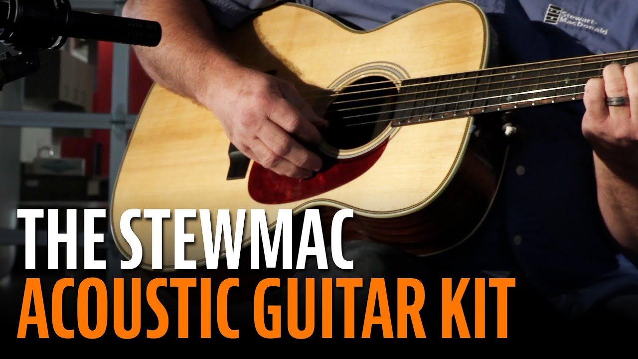 Why Build a StewMac Acoustic Guitar Kit?