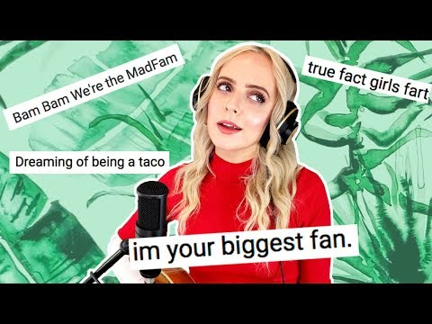 I Wrote a Song Using Only Your Comments! - Madilyn Bailey