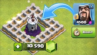 LVL 10 WIZ TOWER GEM TO MAX SPREE!! 🔸Clash of clans New update Pt. 3🔸