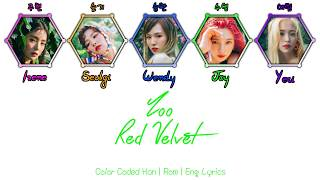 Red Velvet (레드벨벳) - Zoo [Color Coded Han|Rom[Eng Lyrics]
