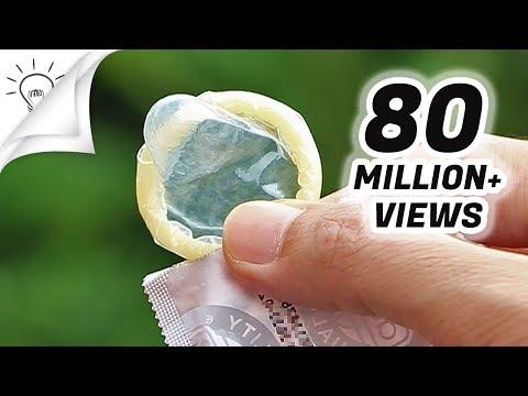ترفندهای استفاده از کاندوم در زندگی روزمره!