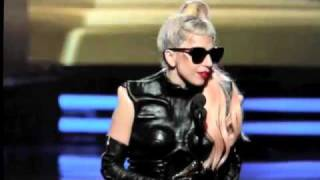 Lady Gaga - Acceptance Speech - Grammy's 2011