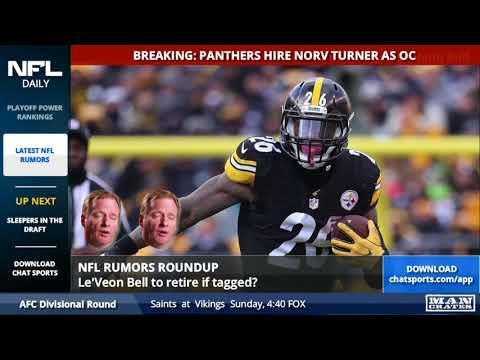 NFL Rumors: Le'Veon Bell, Case Keenum, and the Raiders Breaking the Rooney Rule