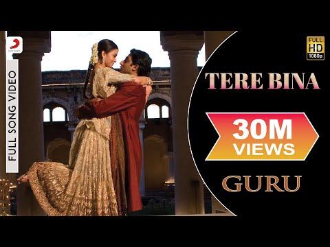A.R. Rahman - Tere Bina Best Video  Guru Aishwarya Rai Abhishek Bachchan Chinmayi