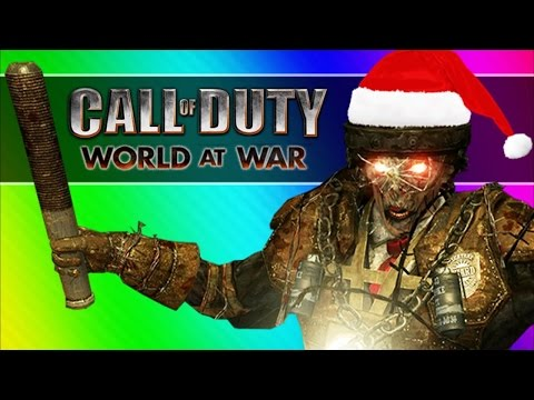 Christmas Zombies! (call Of Duty Waw Zombies Custom Maps, Mods, & Funny Moments)