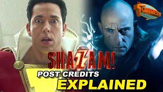 Shazam Post Credits Explained (Spoilers)