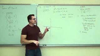 Intermediate Algebra Lecture 11.6