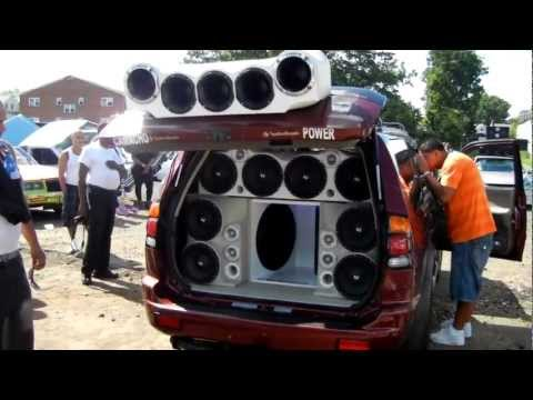 speakers - Ev sound car comp at one of the shows we went to. tuned up your volume all the way and cover your ears so you feel like you are there. Haha.