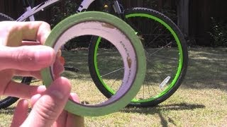 Video How To: Neon Bike Rims Using Duck Tape MP3, 3GP, MP4, WEBM, AVI, FLV Mei 2017