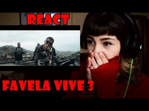 REACT ADL Favela Vive 3 - ADL, Choice, Djonga, Menor do Chapa & Negra Li