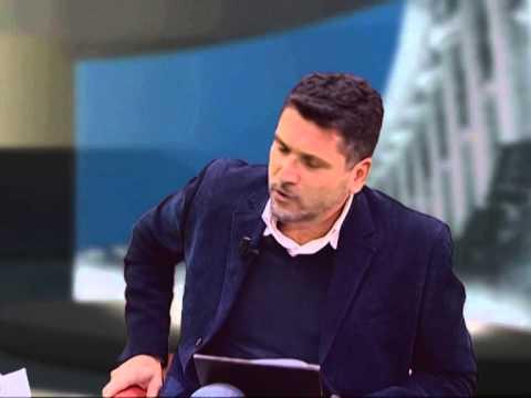Franco Rossi viene intervistato dal giornalista televisivo Giovanni Filosa di TVRS