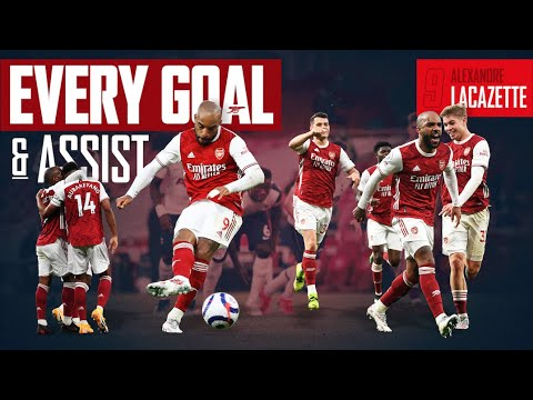 The best of Alexandre Lacazette | Every Goal and Assist | 2020/21 Highlights