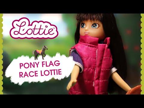Кукла Lottie Наездница на пони